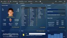 מסך השחקן מפורט עם כל נתון אפשרי (אתר המשחק)