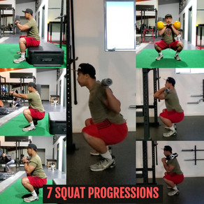 7 Squat Progressions You Need to Know