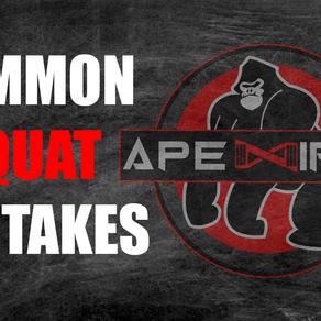 Common Squat Mistakes
