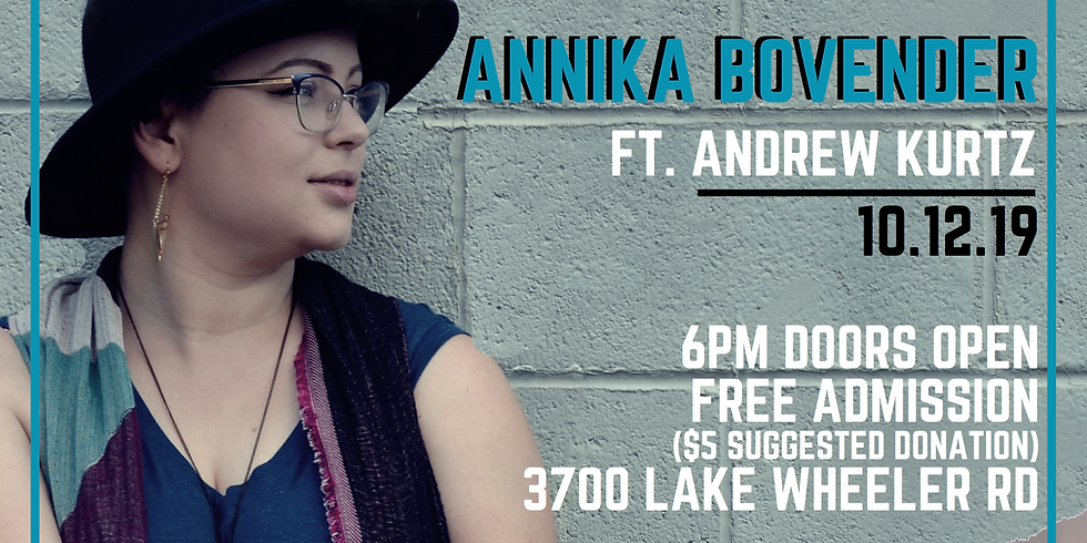 "Annika Bovender, ""Outpour"" album release concert."