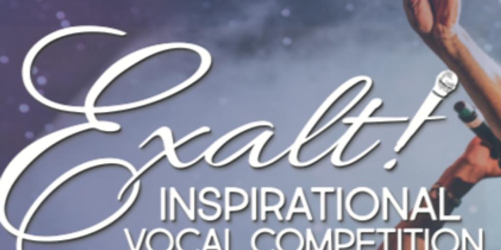 Exalt! Inspirational Vocal Competition