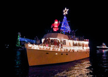 A Floating Christmas Parade!