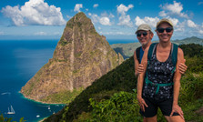 Between the Pitons