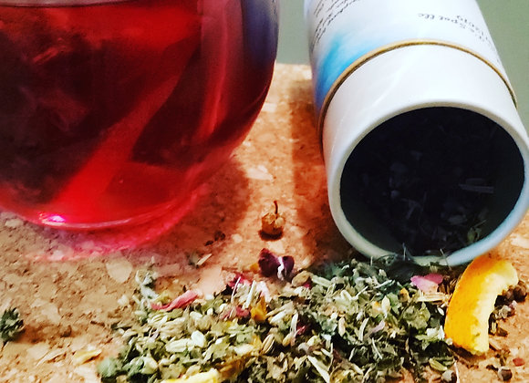 Relax tea and Candle bundle
