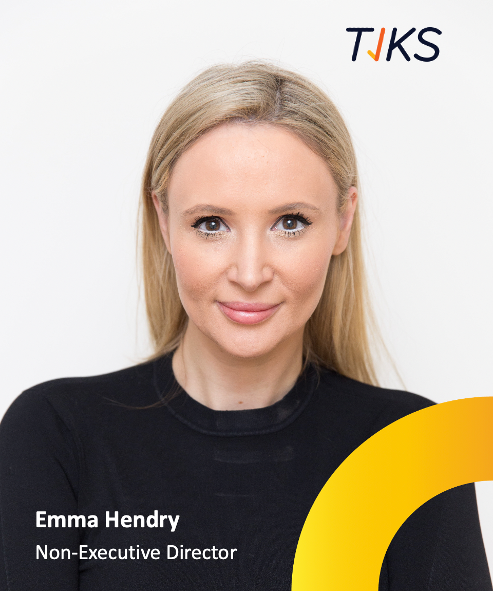 TIKS New Non-Executive Director - Emma Hendry