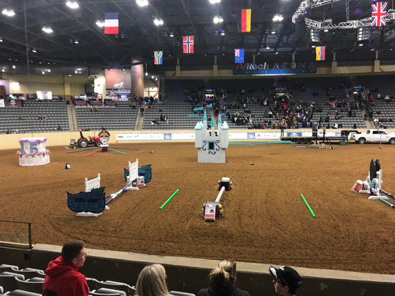 Reporting from Day Three of Road to the Horse -- the Final Round