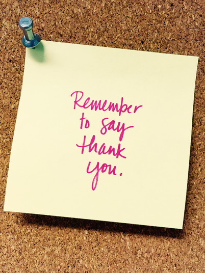 The Power Behind A Simple 'Thank You'
