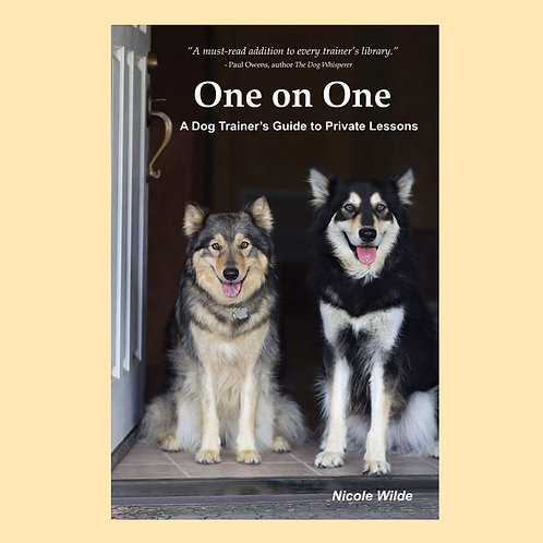 One on One: A Dog Trainer's Guide to Private Lessons ebook