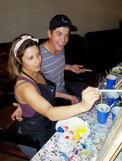 couples paint