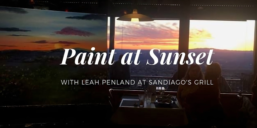 Sunset At Sandiago's