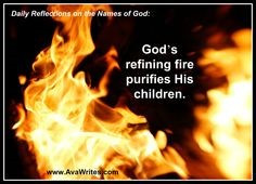 Purifying By Fire