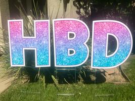 Happy Birthday in Sparkles
