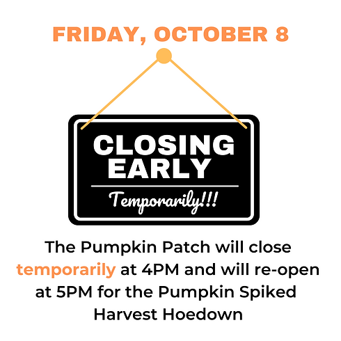 Pumpkin Patch Closes Early