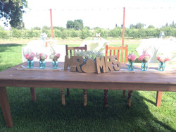 Large Sweet-Heart Table