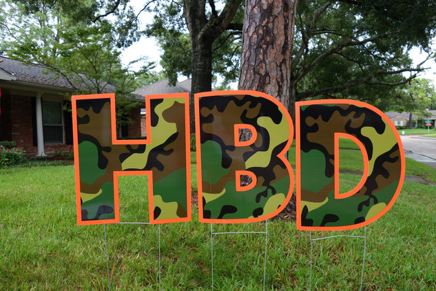 Happy Birthday Camo