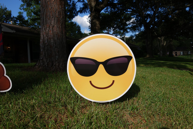 Smiley with Shades Emoji