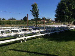 Casual Picnic Tables Available