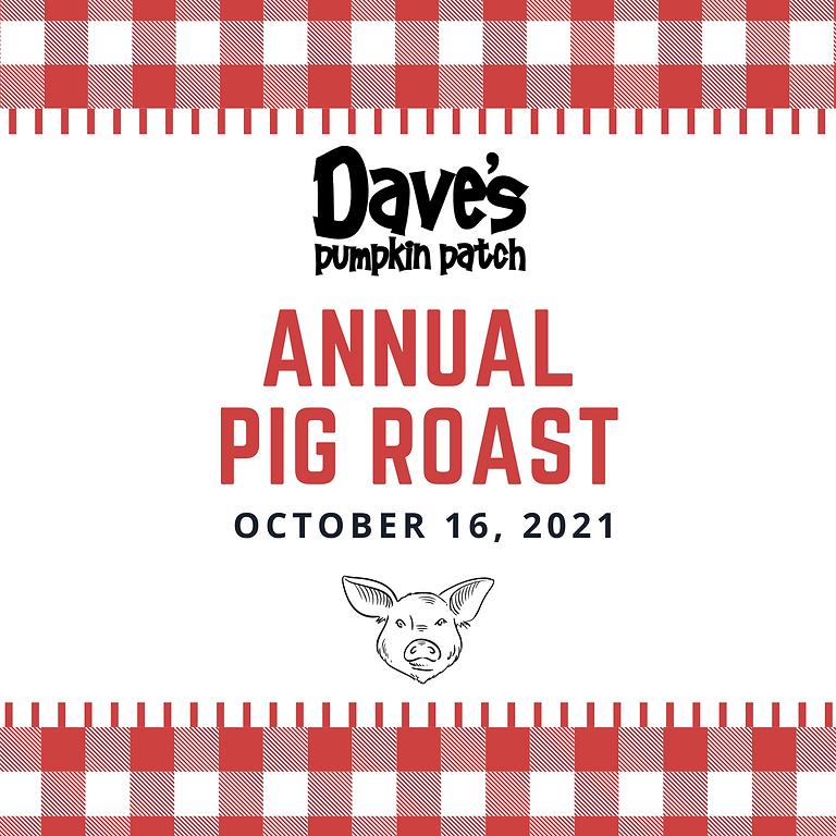Dave's Annual Pig Roast