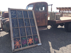 Chalkboard Seating Chart Available