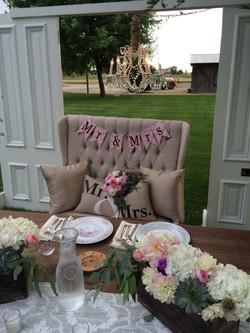 Cozy Sweet Heart Table Arrangment