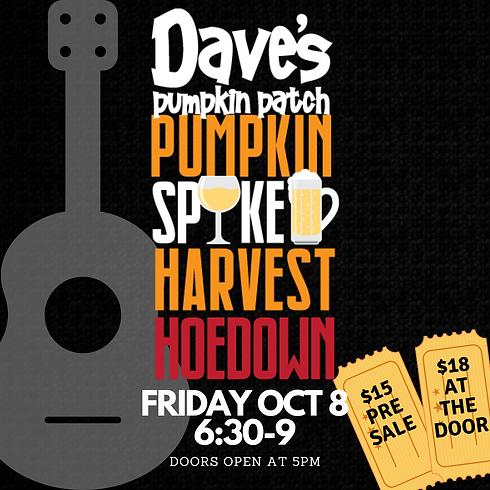 Dave's Pumpkin Spiked Harvest Hoedown (1)