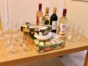 Parents Evening- Cheese & Wine Night