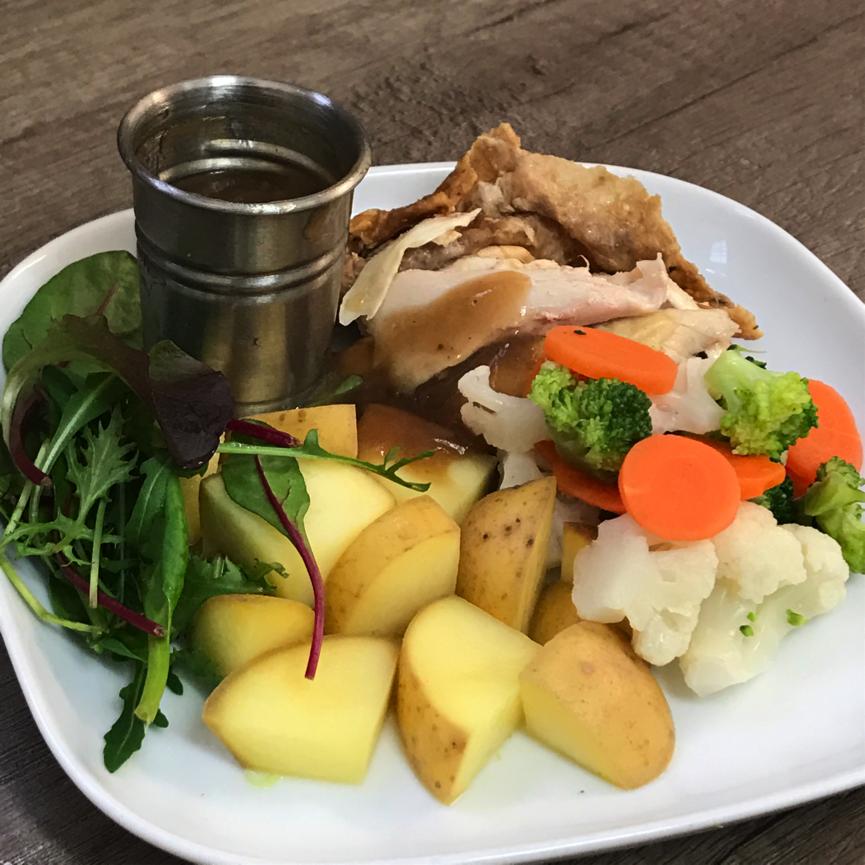 lu chicken and potatoes
