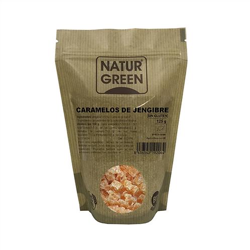 NaturGreen Caramelos de Jengibre 125g