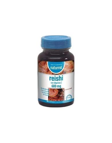 Reishi 600 mg. Con Vitamina C 60 Comp. DietMed