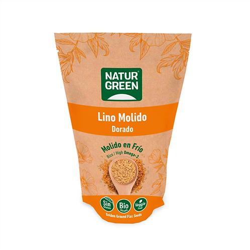 NaturGreen Semillas de lino dorado molido Bio 225 g