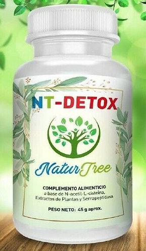 NT-Detox 60 Cápsulas NaturTree
