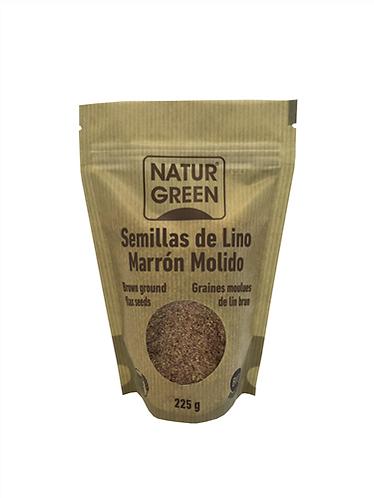 NaturGreen Lino Marrón Molido Bio 225 g