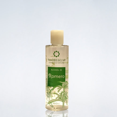 Alcohol de Romero 200 ml.  Madreselva Cosmética Natural