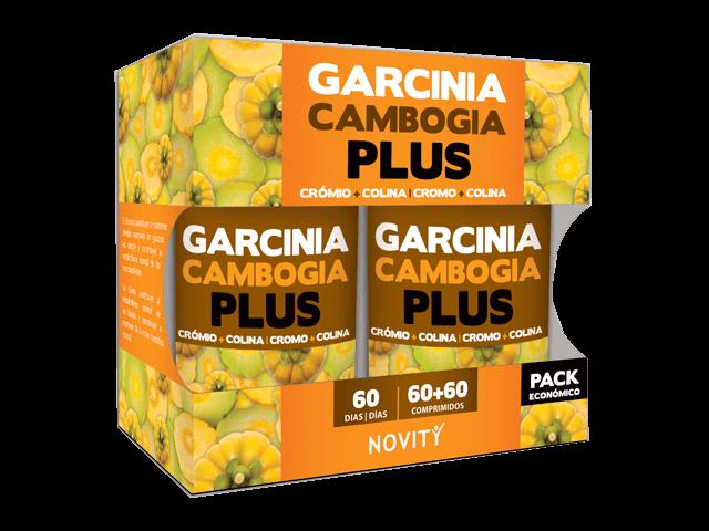 Pack Garcinia Cambogia Plus  60+60 comprimidos NOVITY