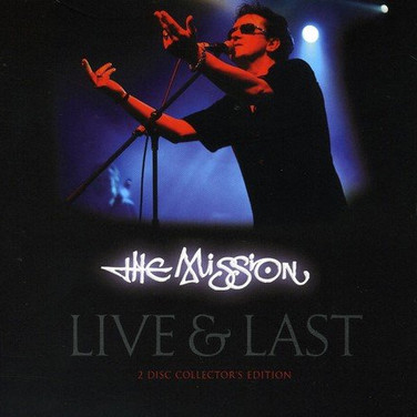 The Mission - LP cover