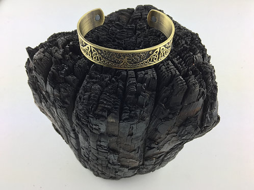 Magnetic Viking Cuff Bangle