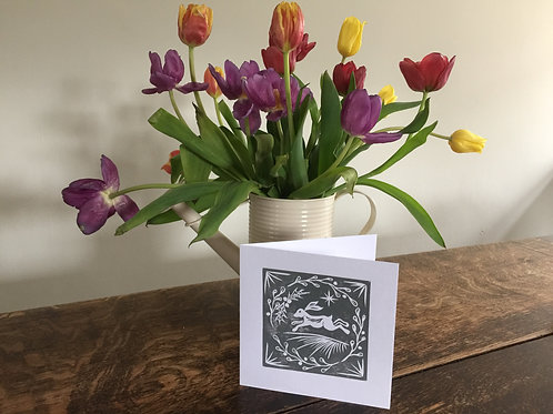 Handmade Lino Cut Cards