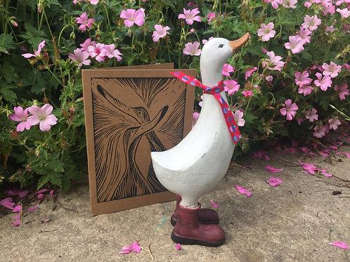Jemima Puddle Duck & Lino Cut Card