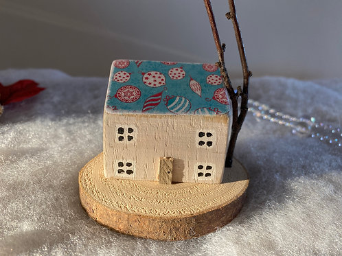 Whimsical Wooden House