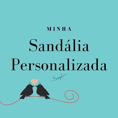 Minha Sandália Personalizada