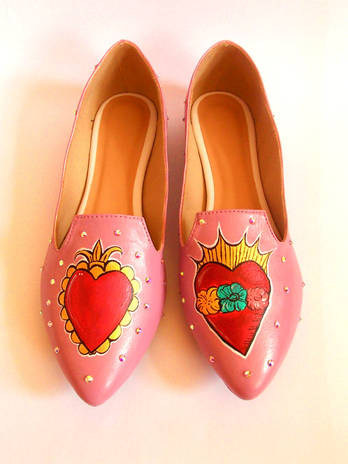 Slipper Corazon