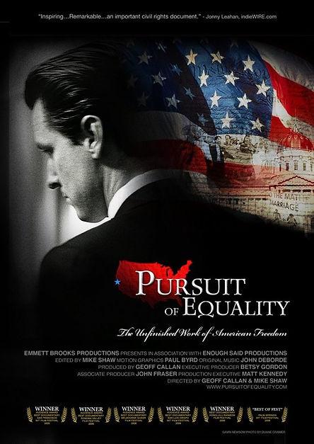 Gavin Newsom Pursuit of Equality Documentary Film  Geoff Callan