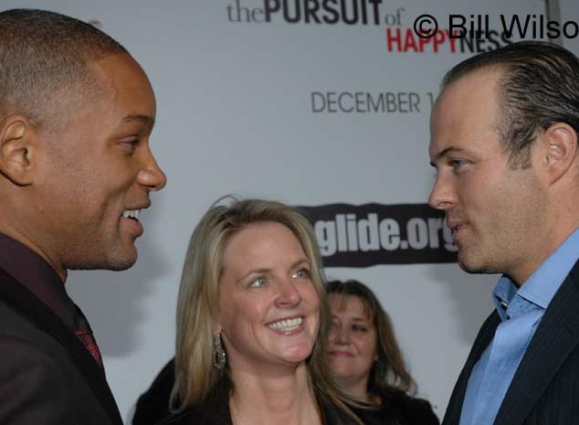 Will Smith with Hilary Newsom and Geoff