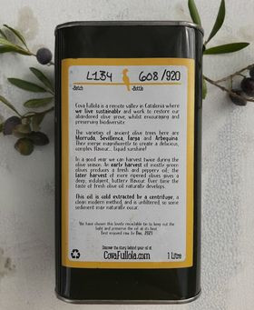 Our Olive Oil: Designing Our Labels
