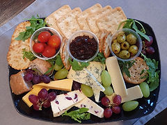 A tray of tasty delights at The Lavender Tea Rooms
