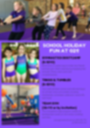 School holidays gymnastics 21, thornton, salt ash, rutherford, tumble, tumbling, acro, bootcamp, kid, children, activities
