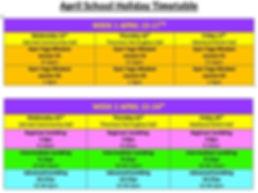 April holidays, kids activties, pcyc, gym, yoga, mindset, tumbling, acro, flips, gymnastics