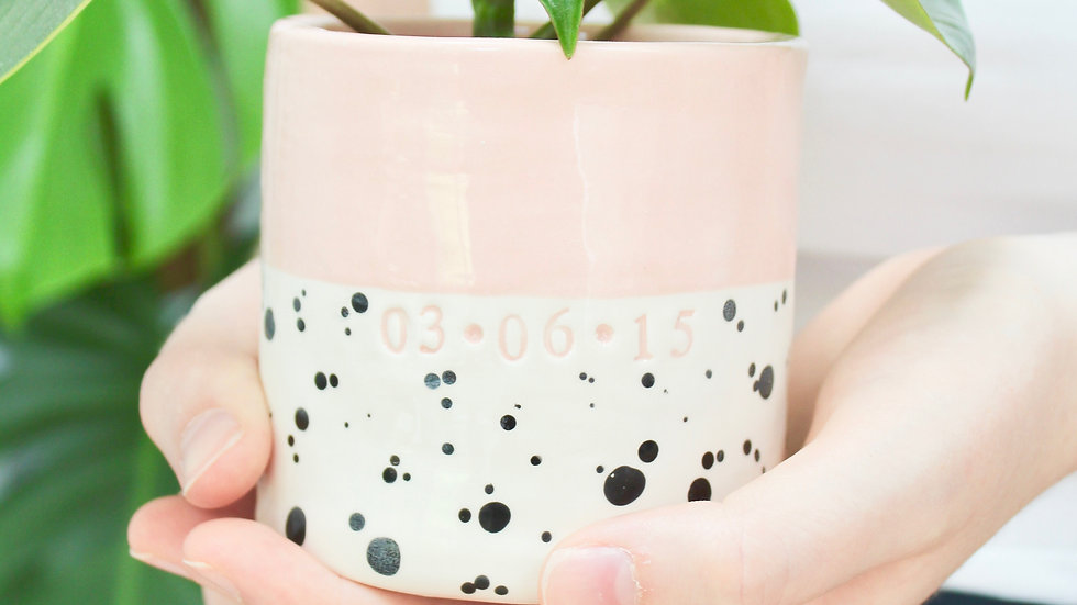 Ceramic Dotty Pot