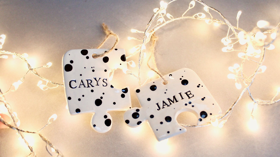 Puzzle pieces decorations