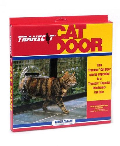 Transcat Cat Door for Glass